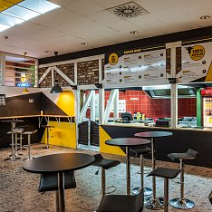 Babu burger v Centru Babylon